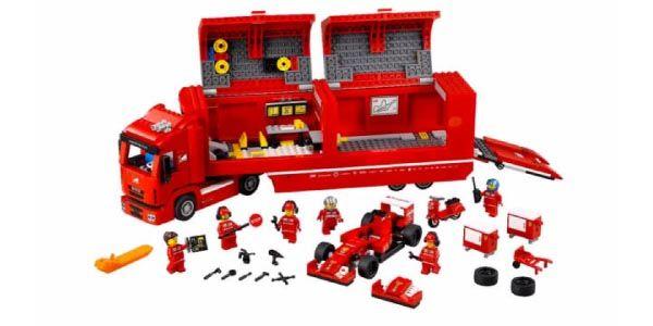 Les Supercars arrivent en Lego