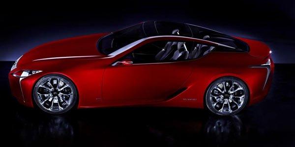 Lexus dévoile le concept LF-LC