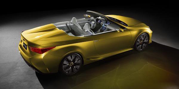 Lexus lève le voile sur son concept LF-C2