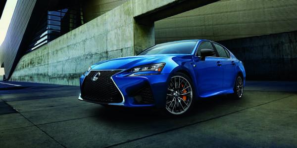 Lexus présente sa GS F à Detroit
