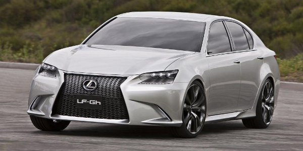 Pebble Beach exposera la Lexus GS 2012