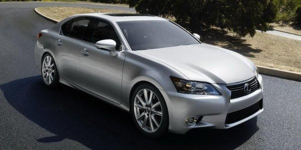 La Lexus GS 450h entre en production