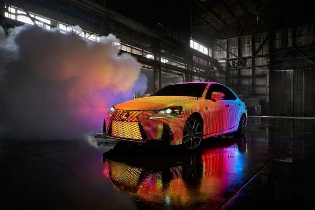 La Lexus LIT IS fait le show