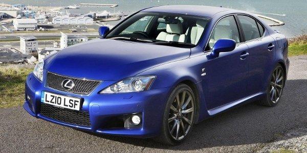 Lexus: petites retouches pour l'IS-F
