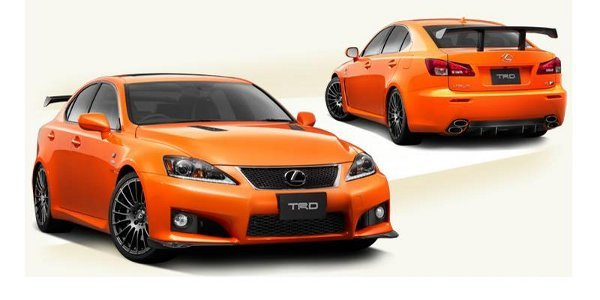 TRD offre à la Lexus IS-F son track pack