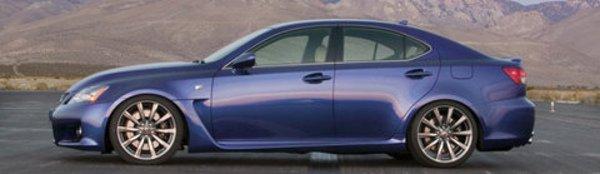 Lexus IS-F: signe extérieur de richesse