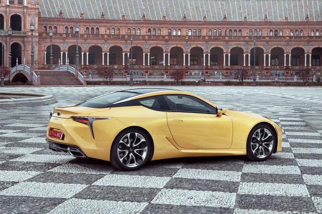 Lexus LC 500 et LC 500h : les tarifs