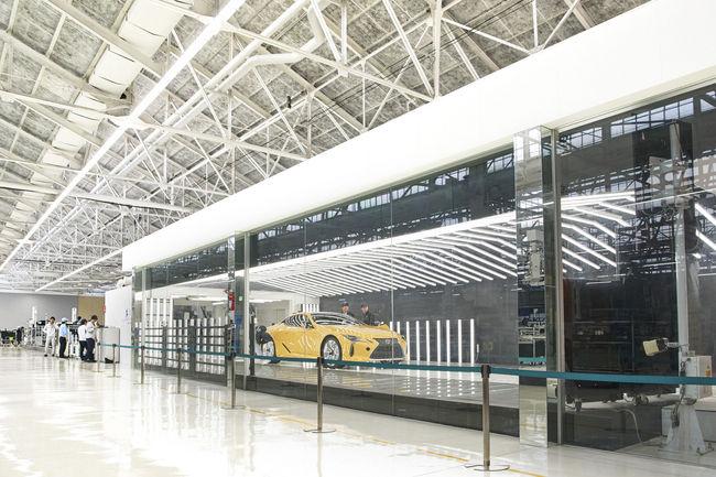 Production lancée pour les Lexus LC européennes