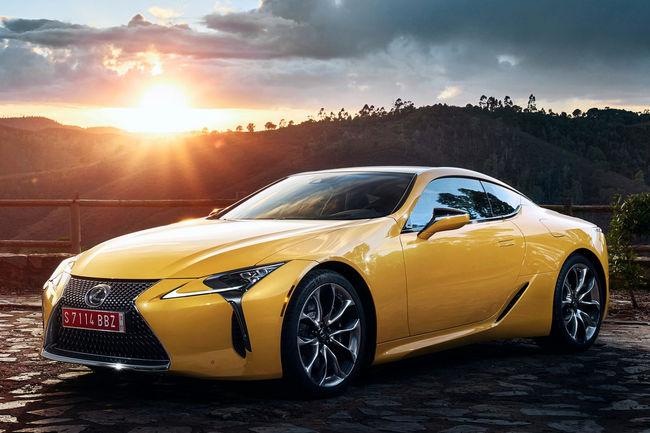 Lancement en production du Lexus LC Yellow Edition