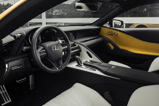 Lexus LC Inspiration Series : pour les USA