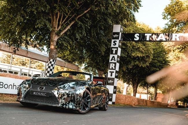 Lexus confirme l'arrivée d'un coupé LC cabriolet