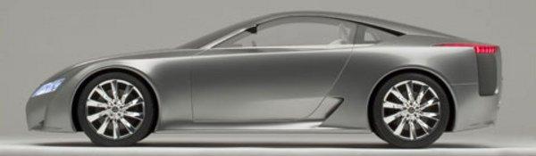 Lexus LF-A : mise au point difficile