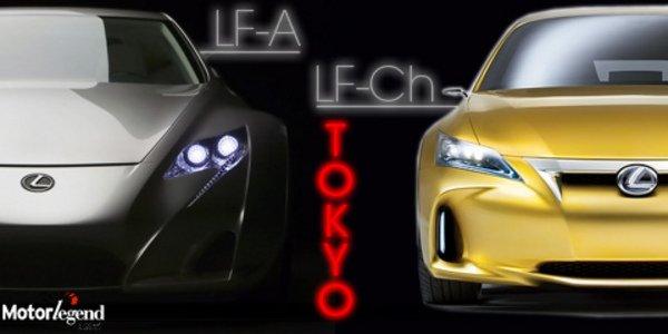 Lexus LF-A à Tokyo