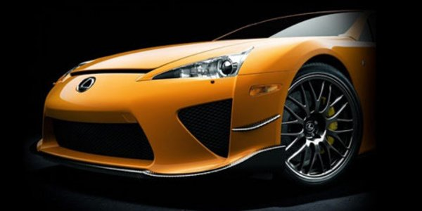 Lexus LF A Nürburgring : le tarif