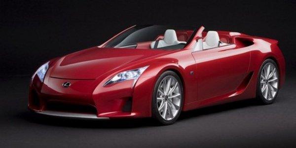 Lexus LFA toutes réservées