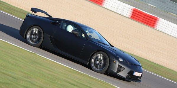 Une préparation pour la Lexus LFA