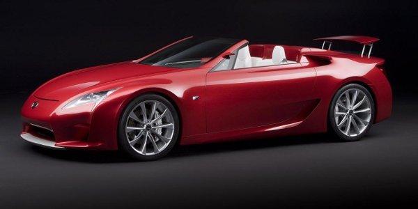 Un roadster Lexus LFA pour 2014