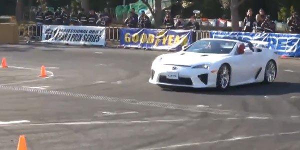 La LFA Roadster existe !
