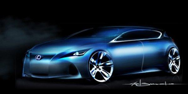 LF-Ch : l'hybride compacte de Lexus