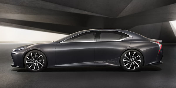 Lexus LF-FC Concept : grand luxe