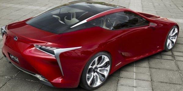 Lexus LF-LC : la production se précise !