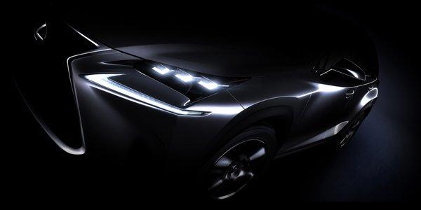 Pékin 2014 : le Lexus NX en approche