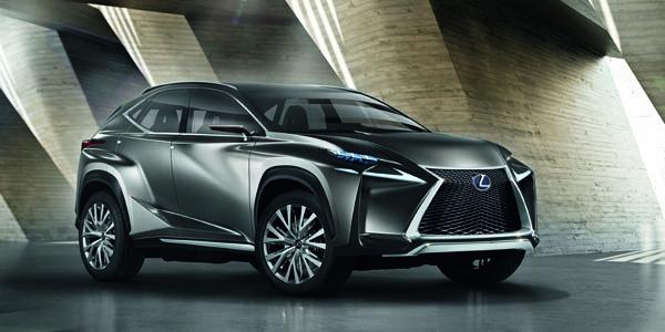 Francfort 2013 : Lexus LF-NX concept