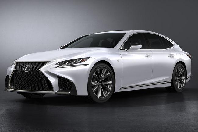 Lexus dévoile sa LS 500 F Sport