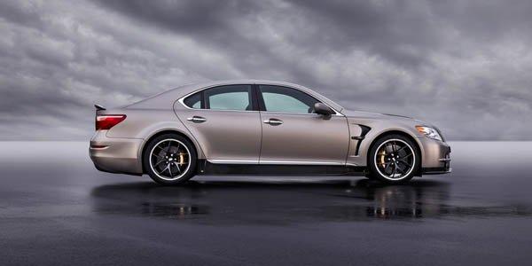 Officiel : Lexus LS TMG Sport 650