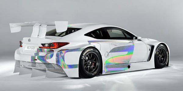 La Lexus RC F GT3 bientôt en compétition ?