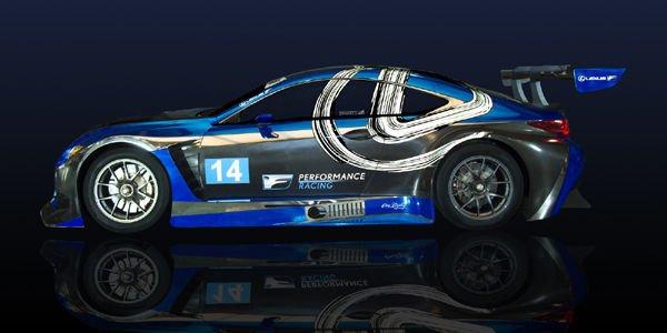 Une Lexus RC F GT3 dans le championnat ISMA WeatherTech