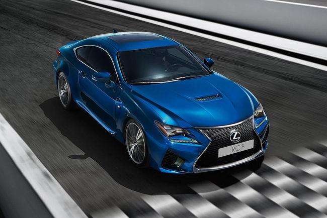 Lexus RC F Track Edition : teaser