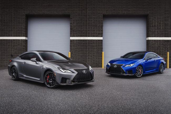 Lexus dévoile son nouveau coupé RC F et sa version Track Edition