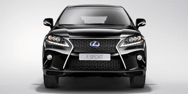 Le Lexus RX 450h restylé se dévoile