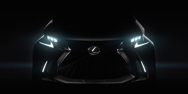 Lexus tease son nouveau concept LF-SA