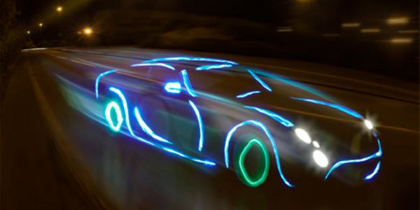 Haut en couleur : light painting
