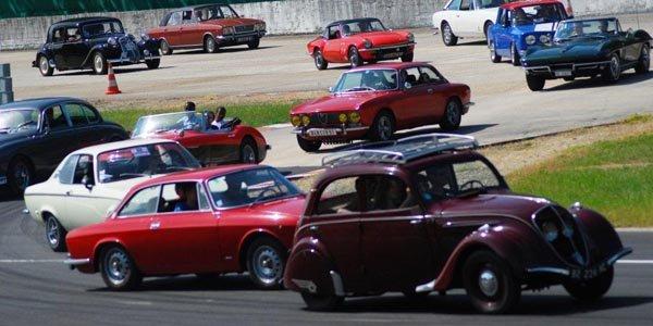 Autodrome Héritage Festival à Montlhéry