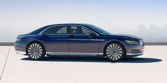 Lincoln dévoile son concept Continental à New-York
