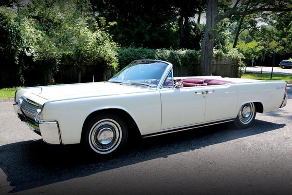 a vendre lincoln continental ex jfk actualit automobile motorlegend. Black Bedroom Furniture Sets. Home Design Ideas