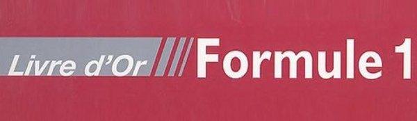 A lire : Livre d'Or de la Formule 1