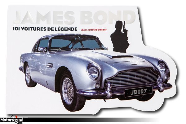 livre james bond voitures de l gende actualit automobile motorlegend. Black Bedroom Furniture Sets. Home Design Ideas