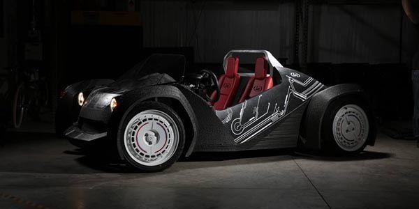Local Motors Strati : imprimée en 3D