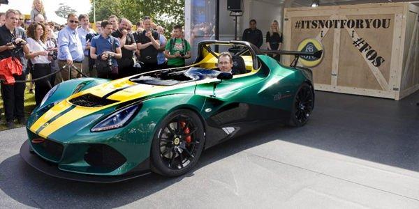 La nouvelle Lotus 3-Eleven dévoilée