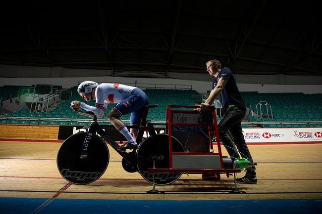 Lotus développe un vélo de piste pour les JO