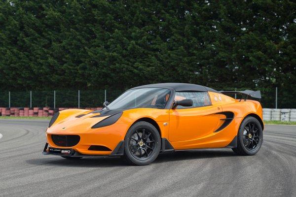 Lotus Elise Race 250 : pour la piste
