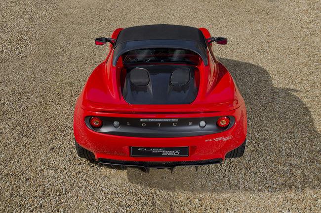 Nouvelles Lotus Elise Sprint et Sprint 220