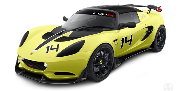 Lotus Elise S Cup R : pour la piste