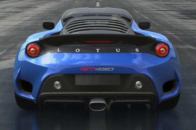 Nouvelle Lotus Evora GT430 Sport