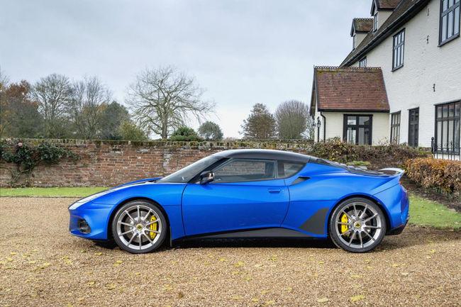 Nouvelle Lotus Evora GT410 Sport