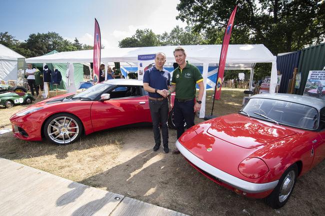 Un one-off Lotus Evora GT410 Sport Jim Clark Edition à gagner